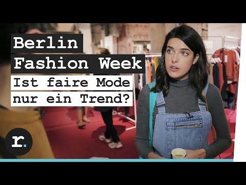 Berlin Fashion Week: Ist faire Mode nur ein Trend?