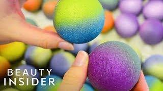 Glitter Bath Bombs Are Galaxy-Inspired