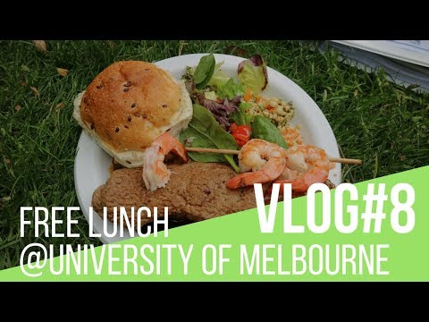 VLOG#8 Free Lunch @University of Melbourne