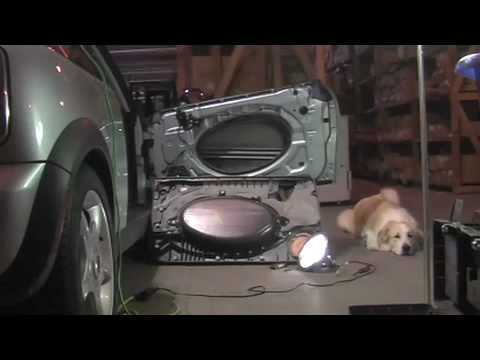 Mini Cooper Door Panel Removal Amp Sound Proof Diy Youtube