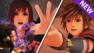 I WISH SOMEONE WARNED ME. Kingdom Hearts 3 Final Battle Official Trailer REACTION (Cried Again)