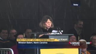 Jill Abramson Wake Forest Commencement Address (C-SPAN)