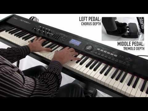 RD-700NX Digital Piano, Synthesizer capability demo by John Maul