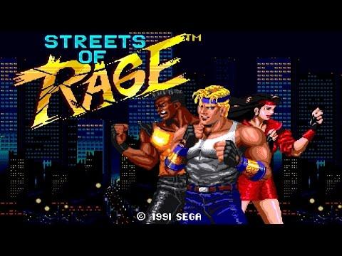 Streets of Rage (Улицы Ярости) Sega Mega Drive/Sega Game Gear FullGameplay [027]