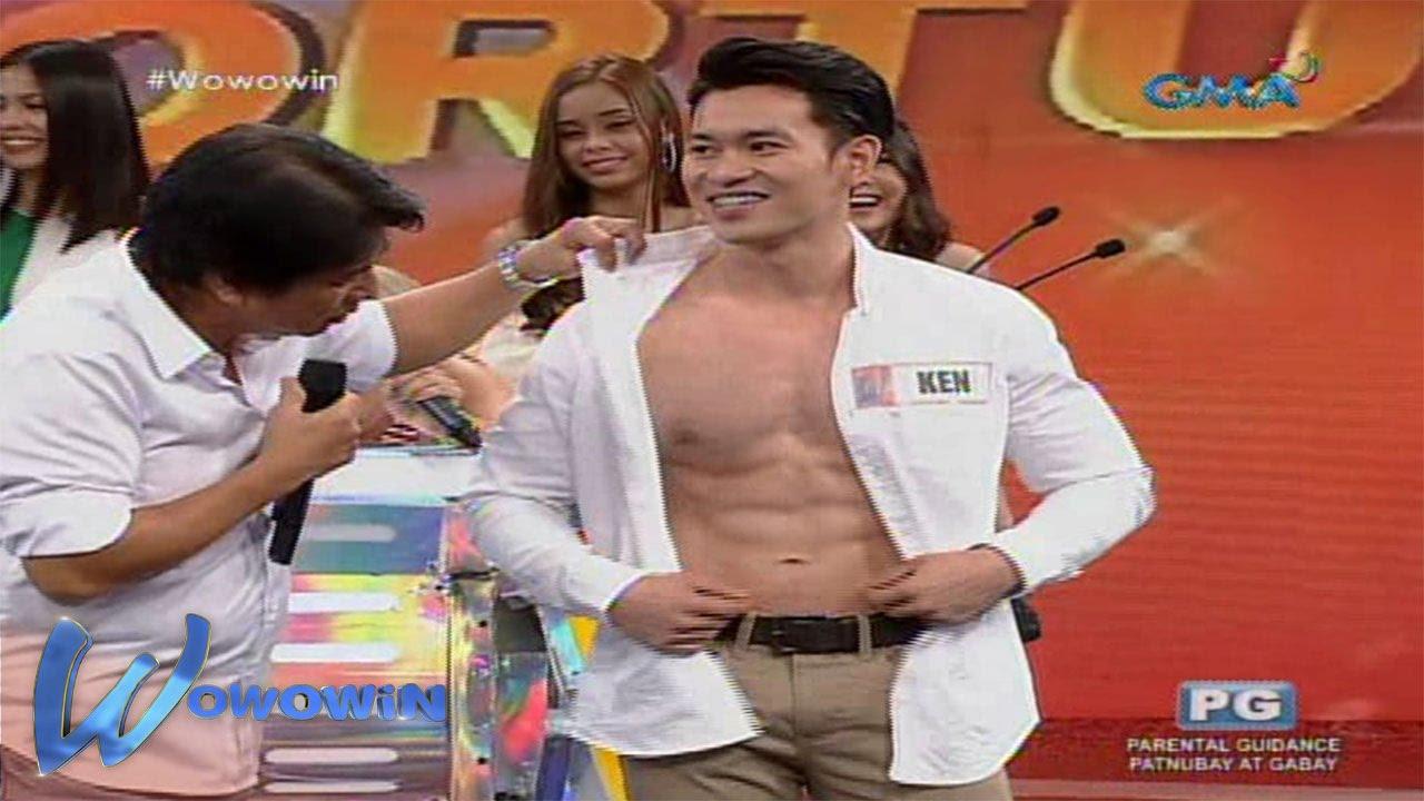 Wowowin: Hosts ng 'Wowowin,' nagulantang sa abs ng isang contestant!