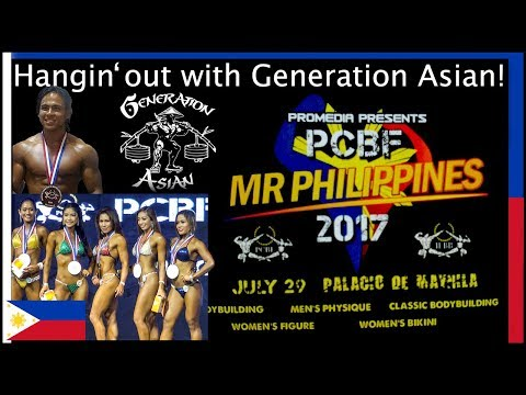 Mr Philippines 2017 IFBB PCBF