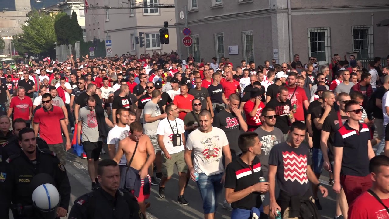 Salzburg Roter Stern Belgrad