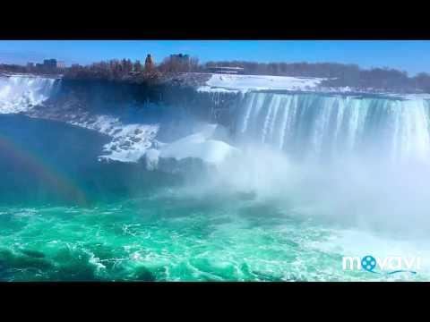 Amazing Niagara Falls at day and at night