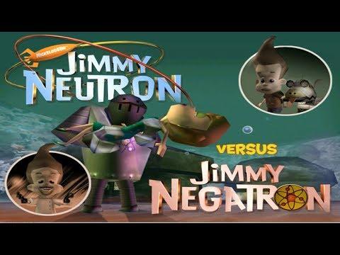 Jimmy Neutron Vs. Jimmy Negatron (PC) Full Walkthrough