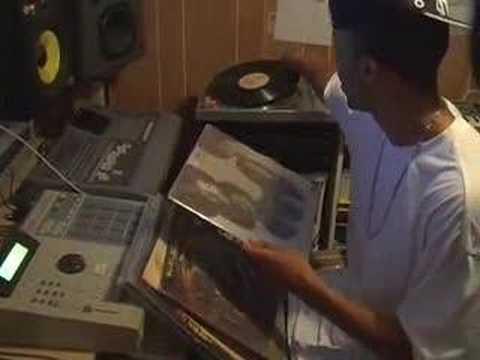 Producer Black Milk In The Basement Studio pt.1