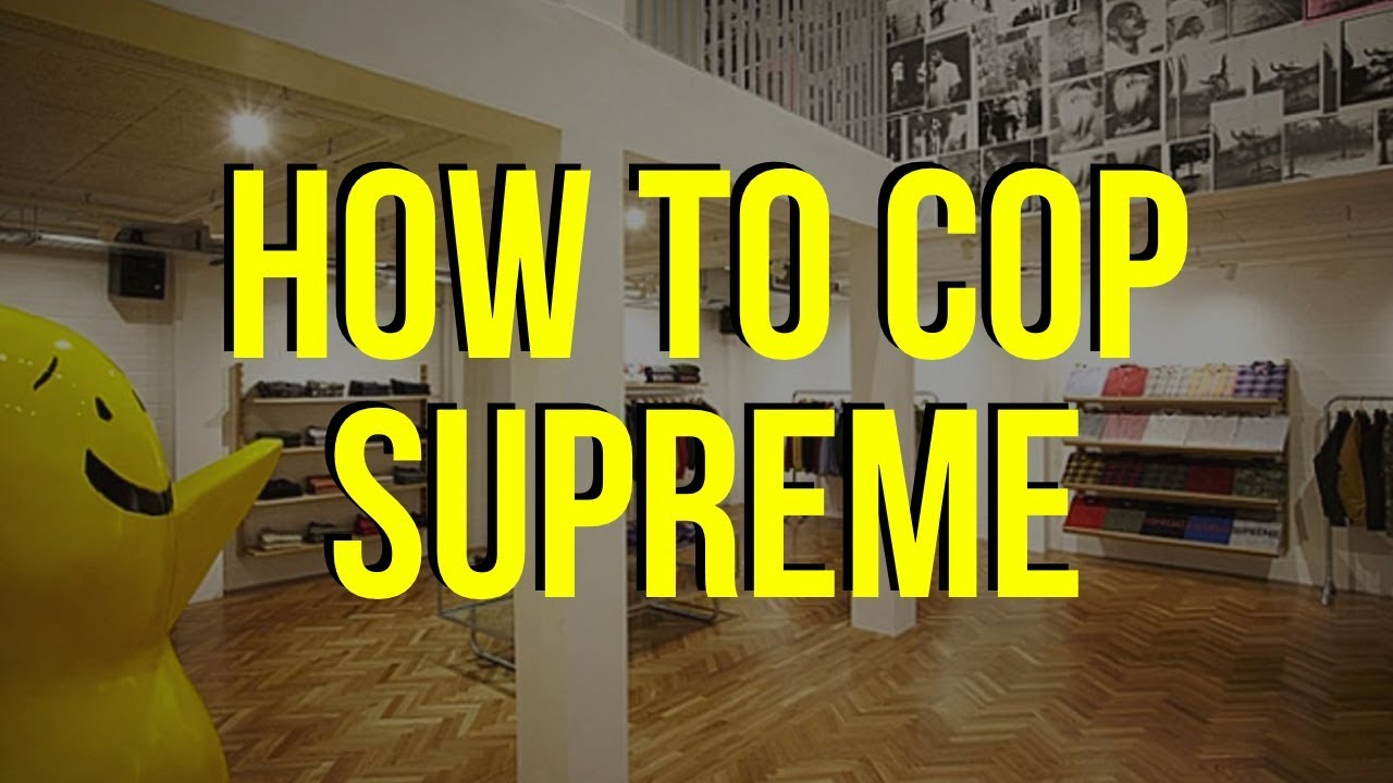 NO MORE CARD DECLINE & HOW TO COP SUPREME [UPDATED]