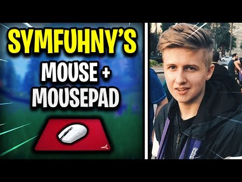 Symfuhny's NEW Mouse and Mousepad (Fortnite Pro Player Updates)