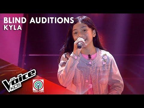 Kyla Valiente - Lipad ng Pangarap | Blind Auditions | The Voice Kids Philippines Season 4