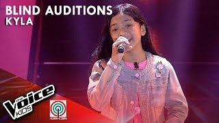 Kyla Valiente - Lipad ng Pangarap | Blind Auditions | The Voice Kids Philippines Season 4