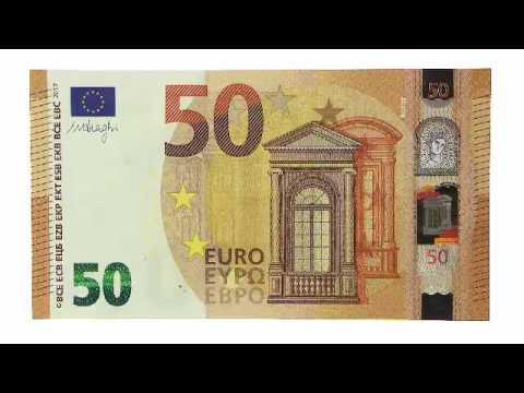 die neue 50 euro banknote alle sicherheitsmerkmale im. Black Bedroom Furniture Sets. Home Design Ideas