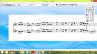 sibelius 6 Урок 3 Как ускорить процесс набора нот