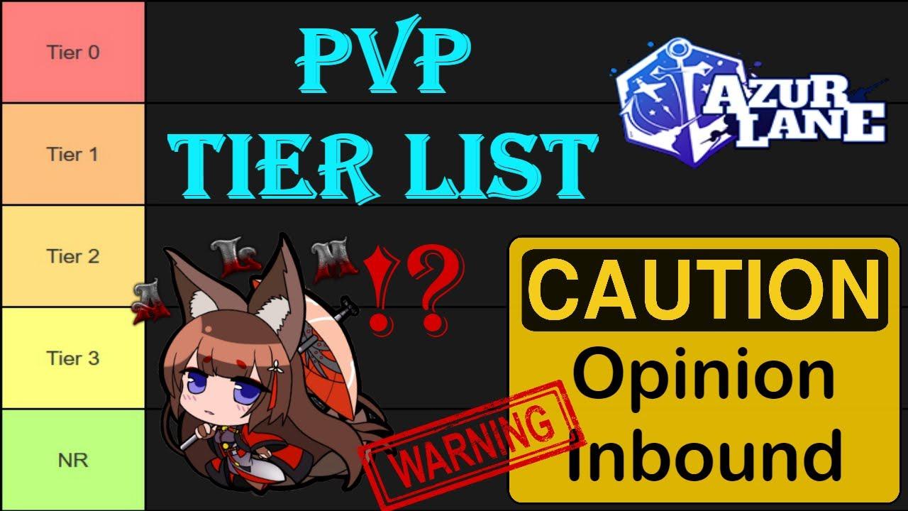 Azur Lane Pvp Tier List En February 2020 Youtube