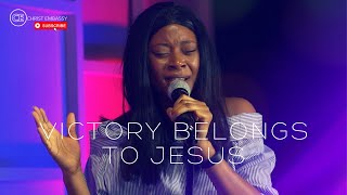 """Christ Embassy Moments of Worship with Ezinne covering """"VICTORY BELONGS TO JESUS"""""""
