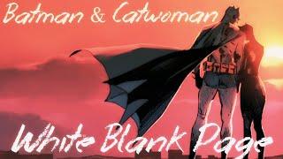Batman & Catwoman | White Blank Page