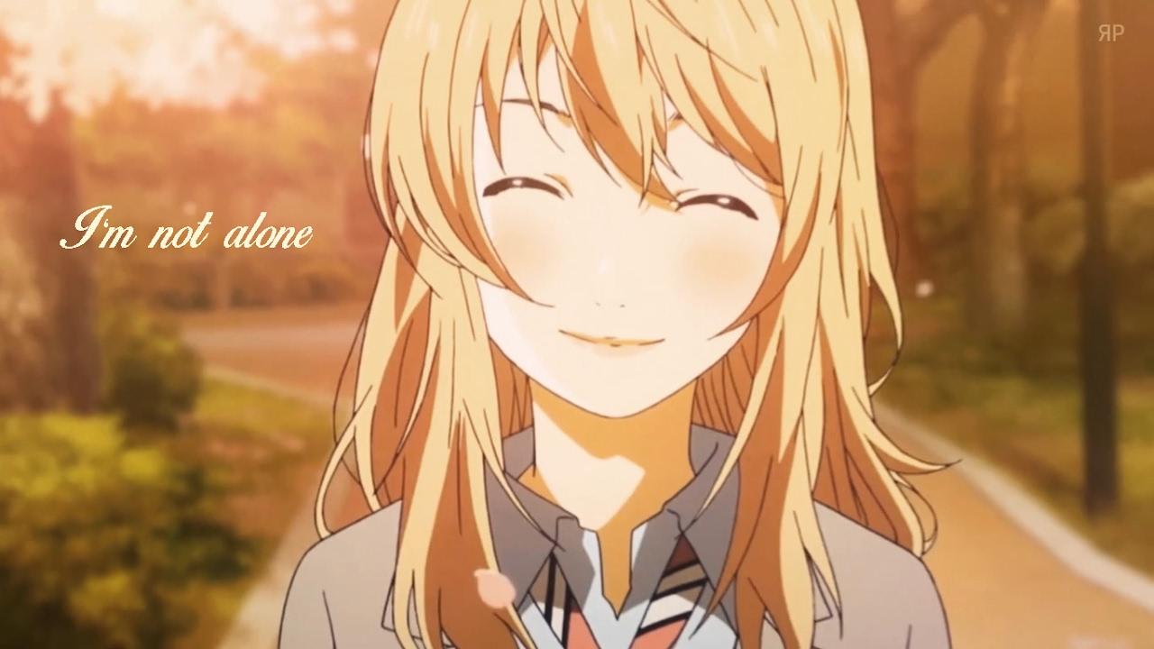 Alone Cartoon Girl 「amv」anime mix - i'm not alone