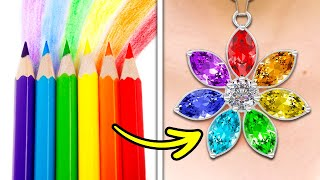 27 Colorful DIY Crafts To Help You Look Gorgeous