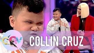 Collin Cruz entertains Vice Ganda with his acting skills | GGV