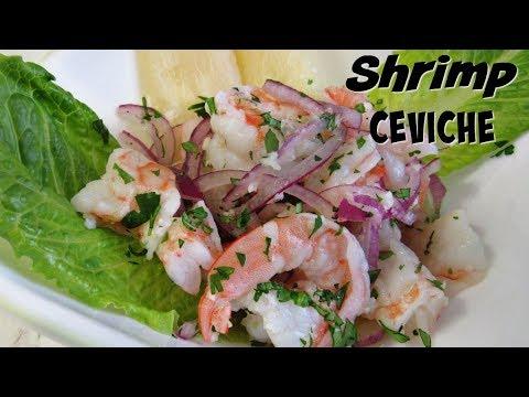 Shrimp Ceviche, Peruvian Style I Lorentix