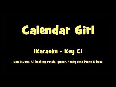 Calendar Girl   Karaoke