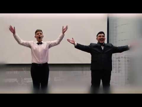 Владимир и Александр Плахатнюк /Куплеты рыболова/
