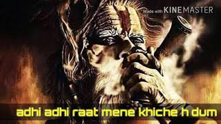 Adhi adhi raat mene mahakal status whats app