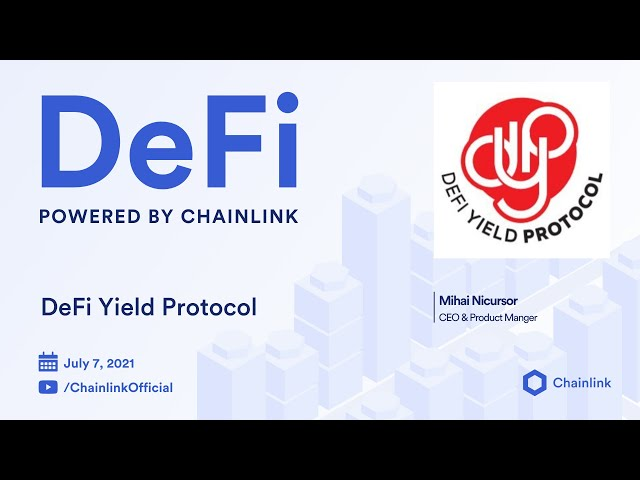 DeFi Yield Protocol (DYP) on Chainlink Live   Native Blockchain Token Yield Farming