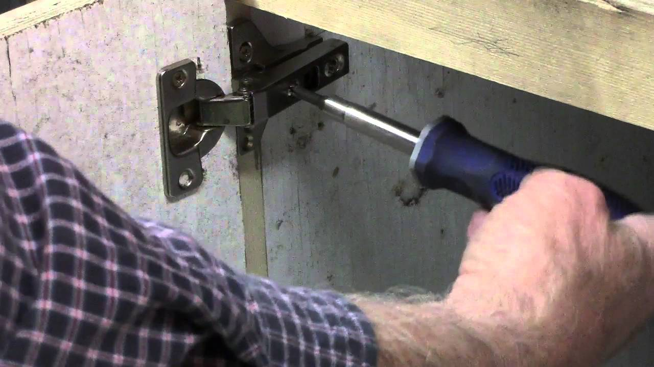 Cabinet hinges style mount european full overlay & Cabinet hinges style mount european full overlay - YouTube