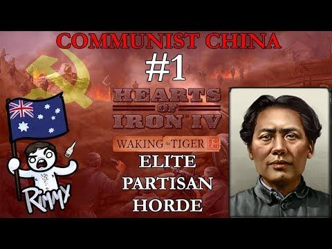 HOI4 Waking the Tiger - Communist China #1 - Elite Partisan Hordes