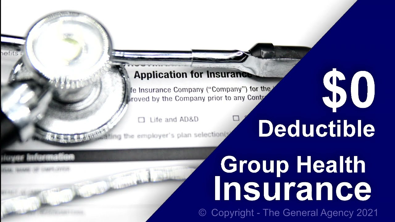 Benefit rich group health insurance plan with no deductible, and low out of pocket costs.