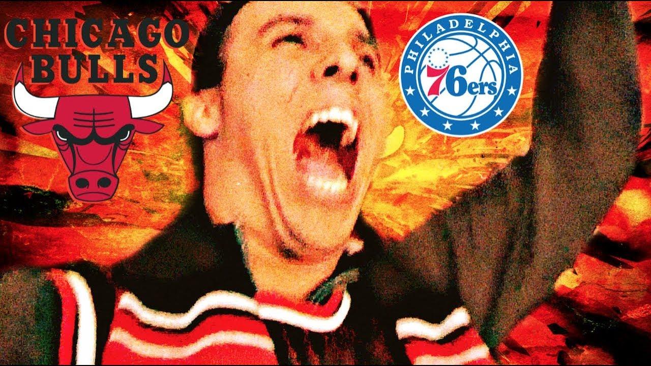CHICAGO GOES CRAZY! | Chicago Bulls v Philadelphia 76ers | Game Day  Experience | Vlog