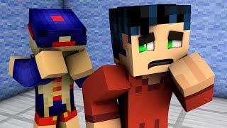 MInecraft Breakup! - Steve and Supergirl Breakup (Minecraft roleplay)