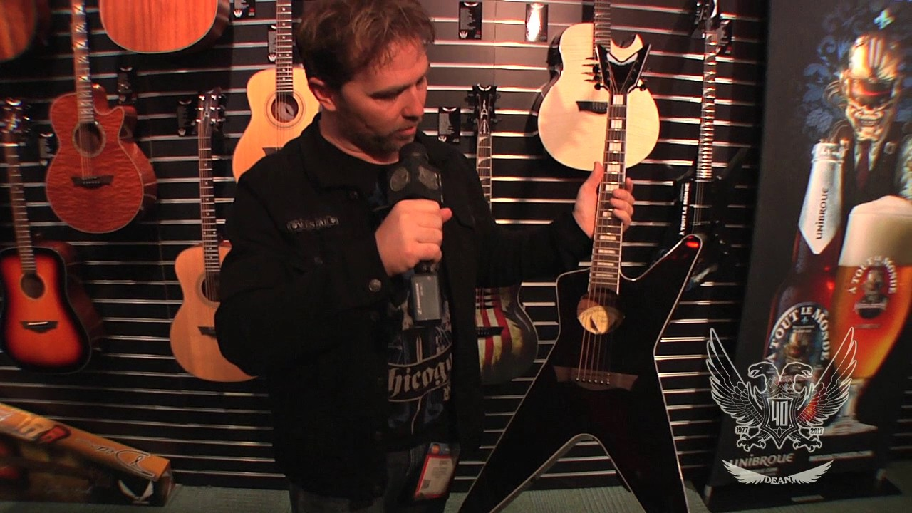 Namm 2017 Dean Guitars Ml Acoustic Youtube