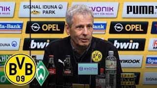 HERBSTMEISTER! | PK mit Lucien Favre | BVB - Werder Bremen 2:1