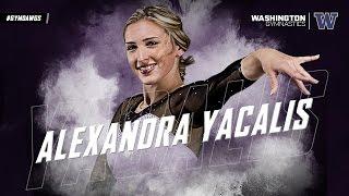 Washington Gymnastics Alex Yacalis Senior Video