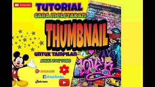 """Download Tutorial pasang """"THUMBNAIL"""" divideo"""