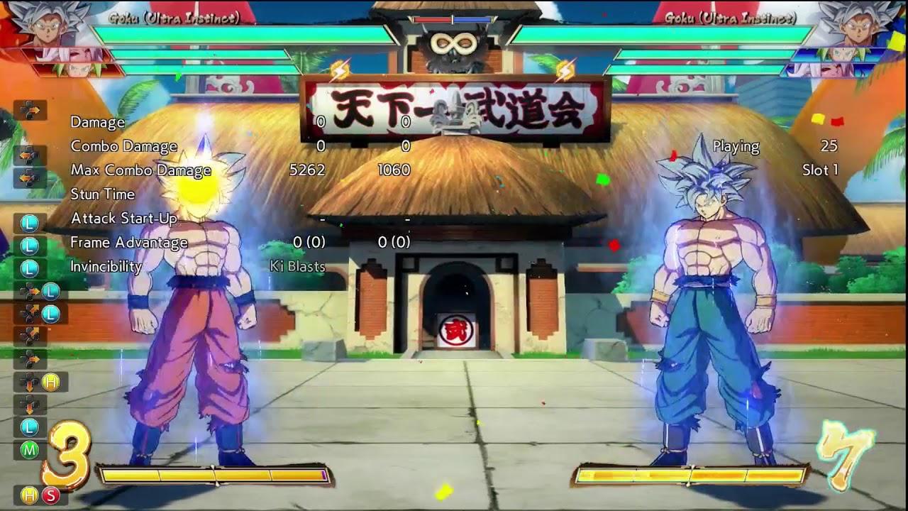 Dragon Ball FighterZ UI Goku First Impressions - YouTube