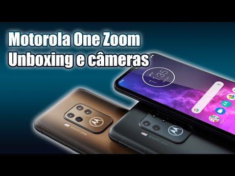 Motorola One Zoom - Unboxing e câmeras