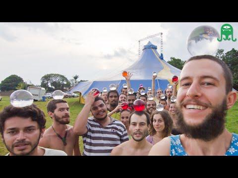 Contact Juggling - Muitas Bolas Flutuantes! - 16ª CBMCP