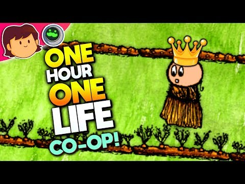 BECOMING A PRINCESS & RULING THE VILLAGE | One Hour One Life CO-OP | Tough Life Simulator Gameplay