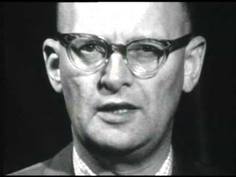 Arthur C Clarke predicts the internet in 1964