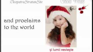 Cleopatra Stratan - A venit, a venit iarna (The Winter has come).flv