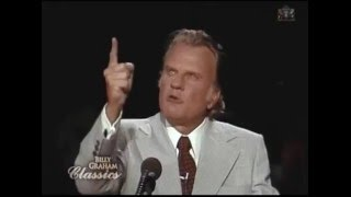 billy graham 3 things you cant do without