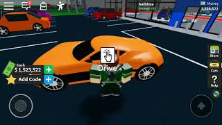 Driving my Bugati vision gt in roblox