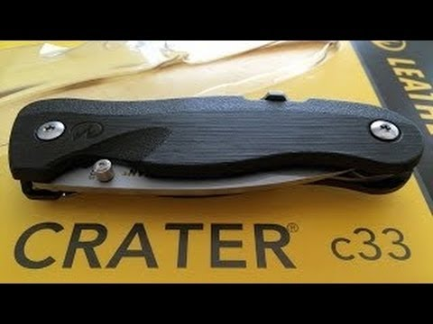 Leatherman Crater c33 - A GREAT Folder For Under $20!!!
