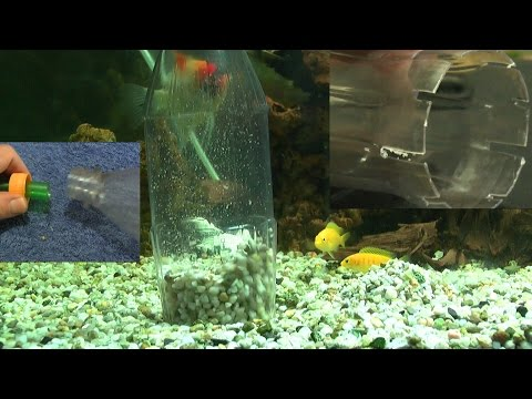 aquarium biofilter eigenbau f r ein aquarium mit jungfischen bzw garnelen funnydog tv. Black Bedroom Furniture Sets. Home Design Ideas